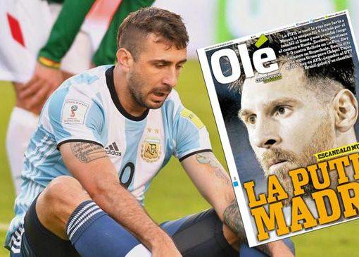 阿根廷媒体不满梅西被处罚 国骂问候国际足联