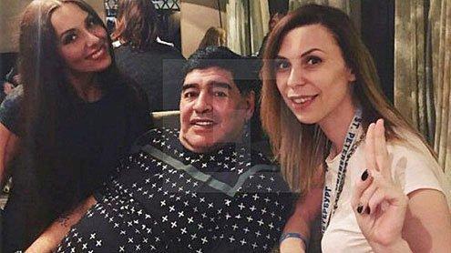 俄媒传马拉多纳性侵俄罗斯女记者,马拉多纳律师否认