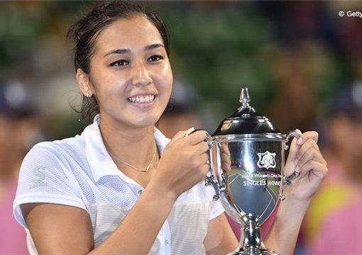 东京国际赛哈萨克美女赢得黑马对决 斩获WTA首冠