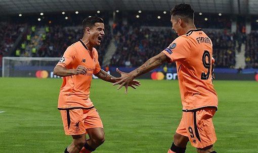 菲尔米诺萨拉赫齐双响张伯伦处子球,利物浦客场7-0马里博尔