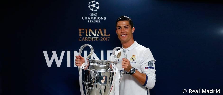官方:C罗连续第二年当选欧洲最佳运动员