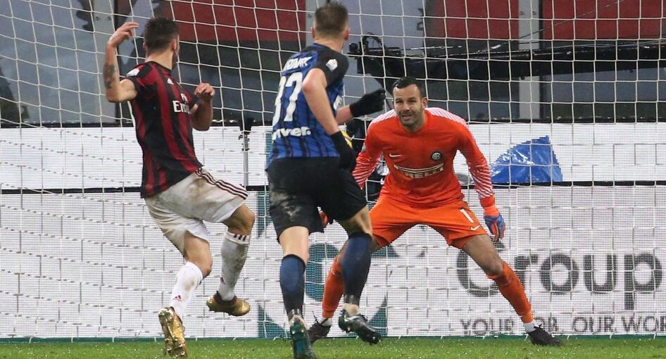 库特罗内加时建功,AC米兰1-0淘汰国际米兰晋级四强