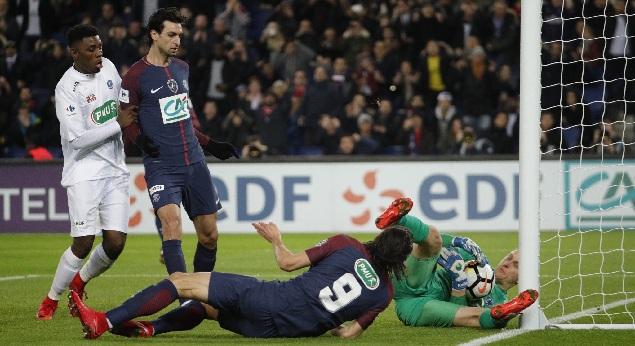 法国杯:迪马利亚两传帕斯托雷建功,巴黎4-2甘冈