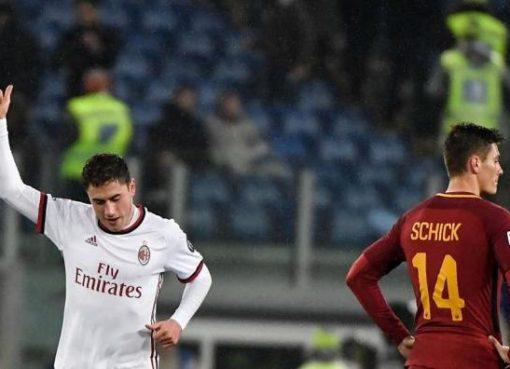 意甲-米兰8轮不败2-0罗马 库特罗内破门新星首球