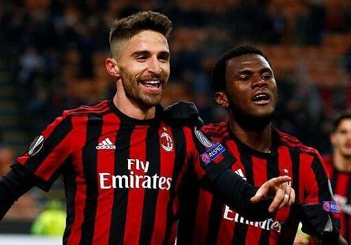 博里尼破门,AC米兰主场1-0卢多戈雷茨总比分4-0晋级