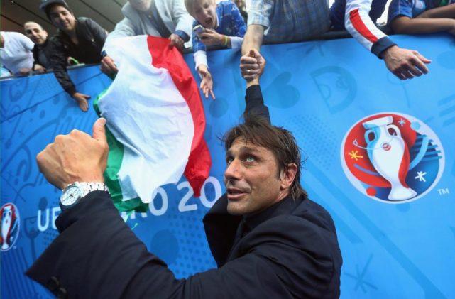 曝切尔西战巴萨后孔蒂或卸任 重返意大利国家队?