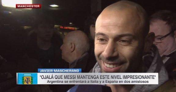 马斯切拉诺:选择去中国是因为我想开开心心并且踢上球