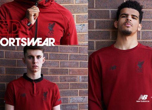 官方:利物浦发布四款125周年限量版服装