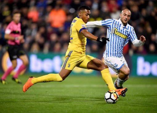 意甲-尤文图斯0-0斯帕尔 24场不败基耶利尼伤退