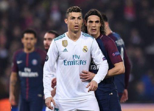 欧冠-皇马总分5-2淘汰巴黎 C罗传射铁腰破门
