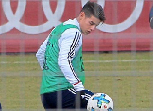 接近复出,哈梅斯参加拜仁慕尼黑合练