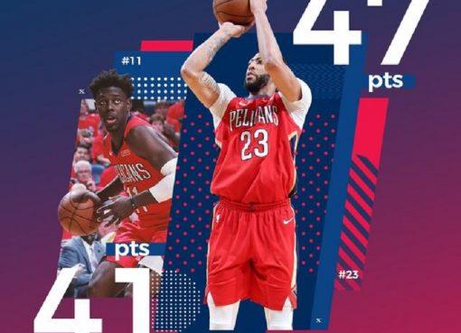 21日数据酷:戴维斯生涯季后赛新高47分