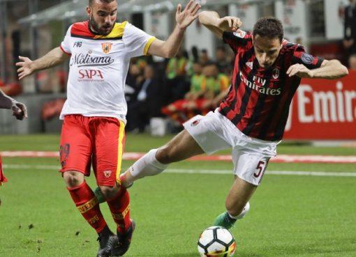 意甲-米兰0-1负贝内文托 凯西中框席尔瓦失绝杀