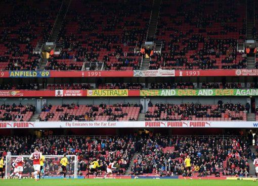 帕洛尔:阿森纳主场低上座率会给对手带来优势