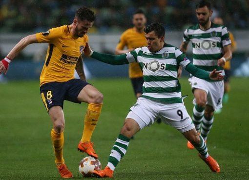欧联:奥布拉克屡献神扑,马竞客场0-1葡萄牙体育两回合2-1晋级