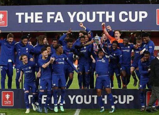 青年足总杯:切尔西7-1阿森纳获5连冠 平曼联神奇纪录