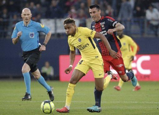 姆班格击中横梁阿雷奥拉多次救险,巴黎客场0-0闷平卡昂