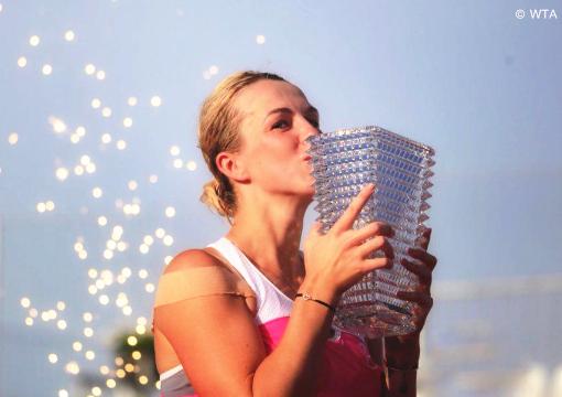 斯特拉斯堡赛帕芙娃救赛点险胜 夺生涯第12冠