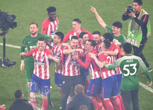 马竞队史第3次夺得欧联杯冠军,队史第31冠
