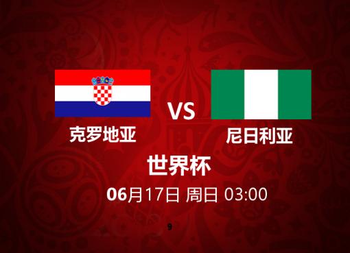 克罗地亚 VS 尼日利亚