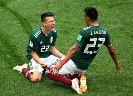 世界杯F组第1轮 德国0-1墨西哥