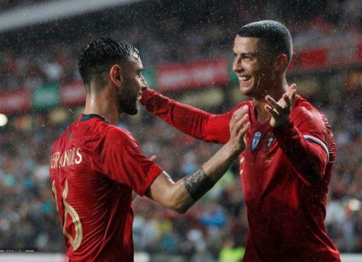 热身赛-C罗献助攻葡萄牙3-0大胜 格德斯两球