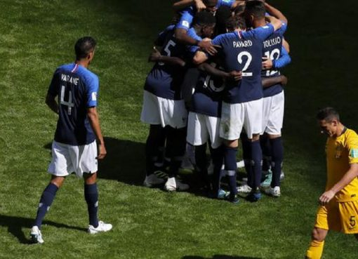 世界杯C组第1轮 法国2-1澳大利亚