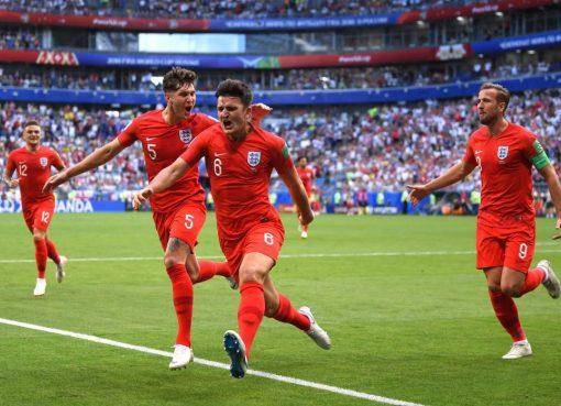 世界杯1/4决赛 瑞典0-2不敌英格兰