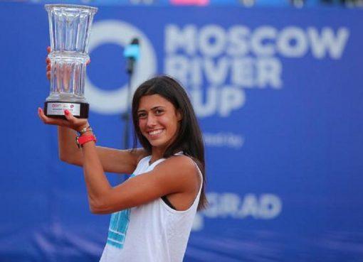 莫斯科赛丹尼洛维奇夺首冠 01后首夺WTA单打冠军