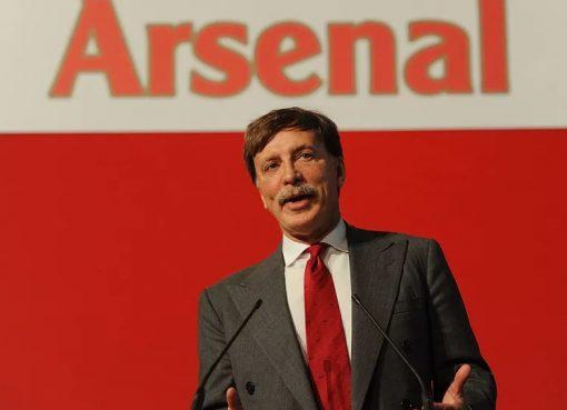 阿森纳大股东克伦克报价收购俱乐部全部股份,约18亿英镑