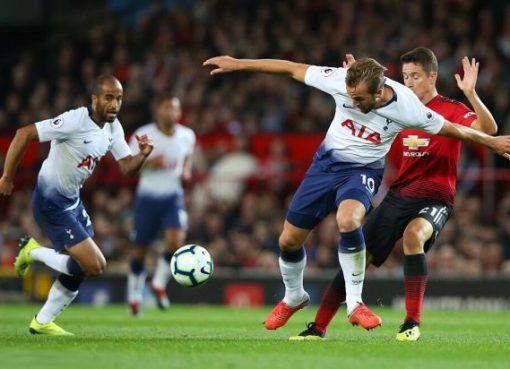 英超-曼联0-3负热刺两连败 凯恩小卢卡斯三分钟闪电两球