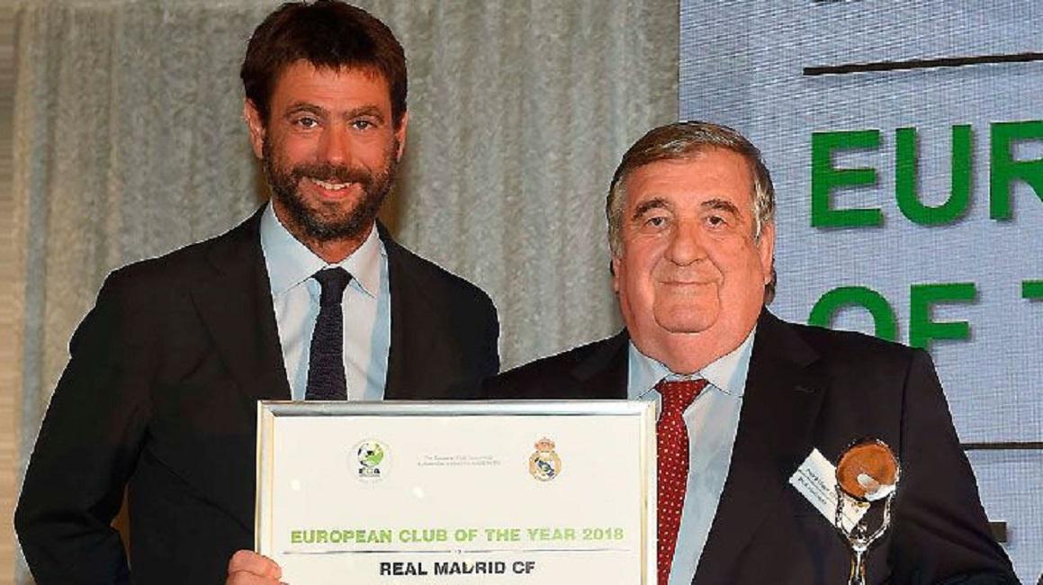 皇马当选欧洲年度最佳球队 连续3年获奖傲视全欧