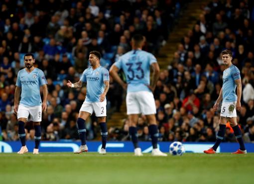 欧战连败何时了?曼城成首支欧冠四连败英格兰球队