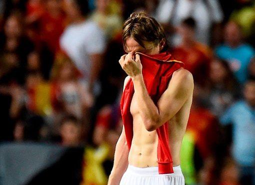 克罗地亚丢六球不敌西班牙,历史最惨痛失利