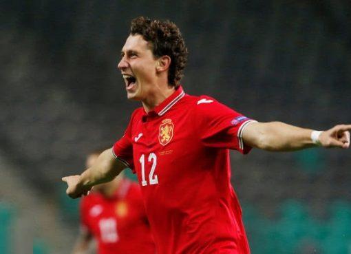 欧国联-保加利亚客场2-1斯洛文尼亚 克莱夫梅开二度
