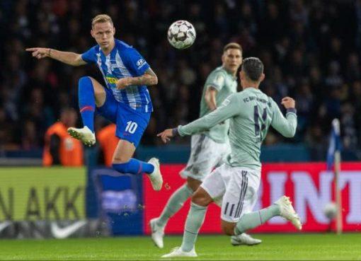拜仁爆冷0-2柏林赫塔吞德甲赛季首败 罗本错失必进球