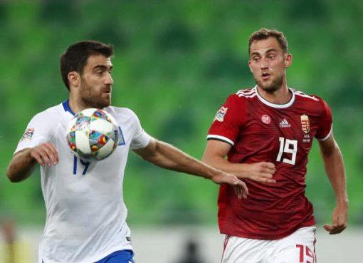欧国联-匈牙利2-1希腊 萨莱和克莱因海斯勒破门