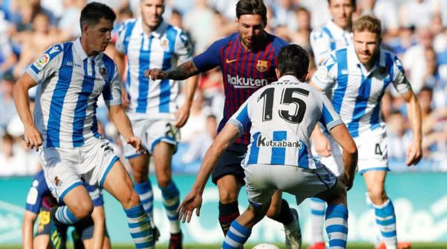 梅西47场不败冲西甲纪录 状态有下滑巴萨险阿根廷附体