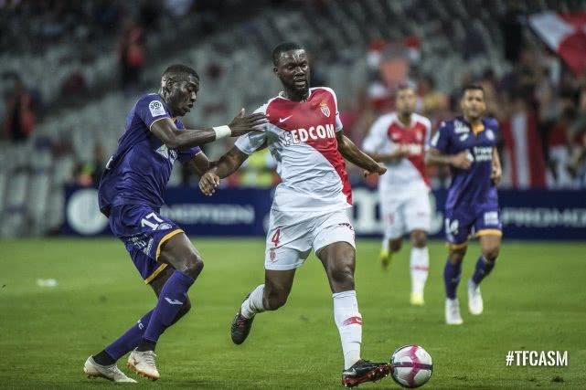 法甲-摩纳哥1-1平图卢兹 法尔考缺阵新星破门