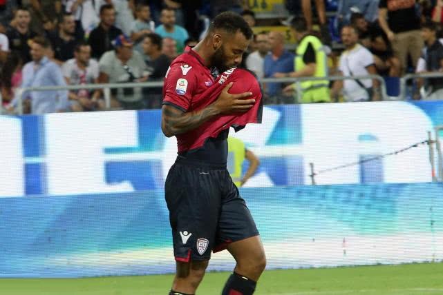 意甲-米兰客场1-1卡利亚里 伊瓜因收获红黑军团生涯首球