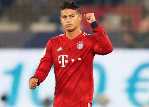 踢球者:拜仁将买断J罗,已确定合同薪水