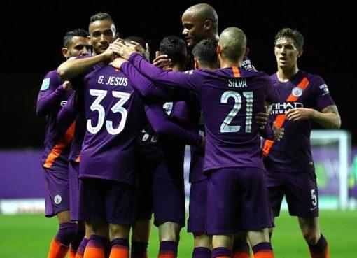 联赛杯:热苏斯马赫雷斯福登建功,曼城客场3-0牛津联晋级