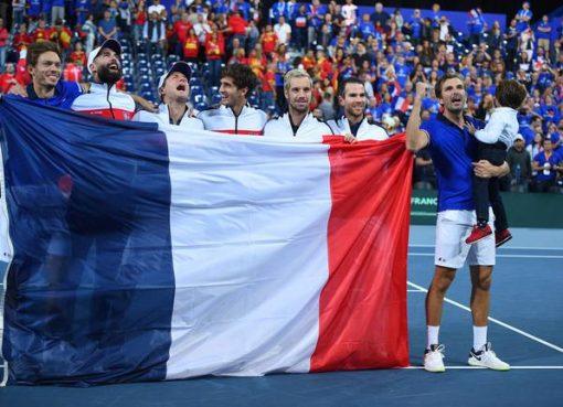 戴杯法国3-0西班牙连续两年进决赛 美国扳回一城