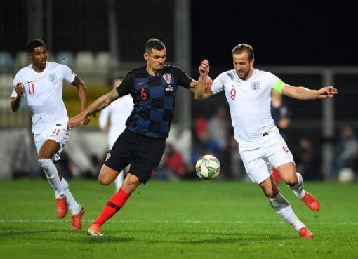 欧国联-英格兰两中门框0-0克罗地亚 拉什福德错失单刀