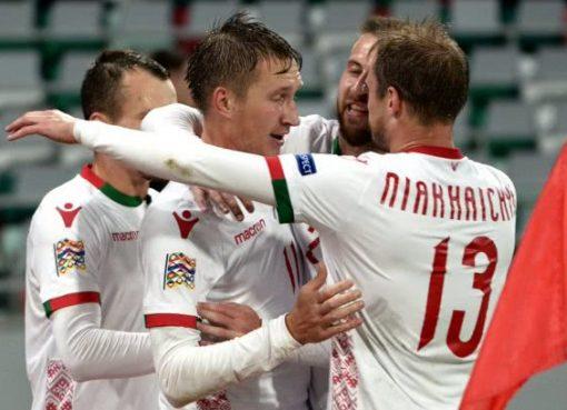 欧国联-白俄罗斯1-0胜卢森堡 萨罗卡破门建功