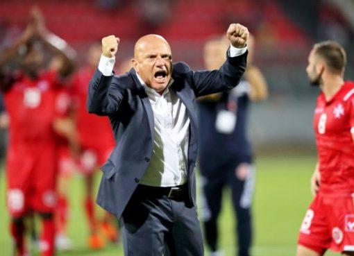 欧国联-阿塞拜疆1-1平马耳他 阿布杜拉耶夫破门
