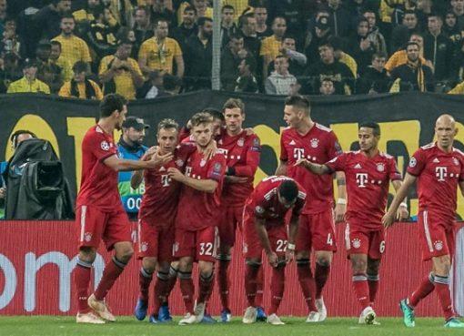 连续两个欧冠客场不失球,拜仁5年来第1次