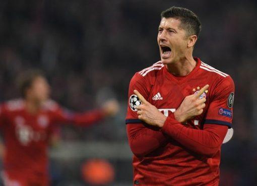 拜仁慕尼黑赛后评分:全队平均,莱万最高