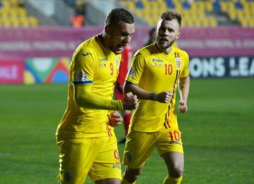 欧国联-罗马尼亚3-0立陶宛 普斯卡什科塞鲁破门