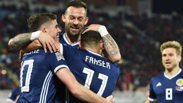欧国联-苏格兰4-0胜阿尔巴尼亚 弗雷斯特梅开二度